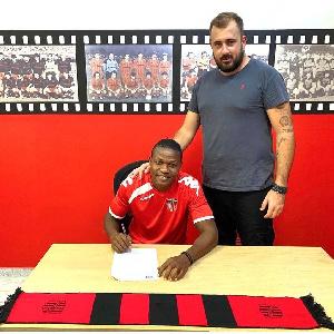 Former Ghana youth midfielder, Albert Bruce
