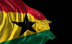 File Photo of Ghana's flag