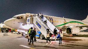 A new batch of 133 asylum seekers from Libya have landed in Rwanda