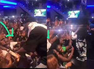 Stonebwoy during his performance in the United Kingdom