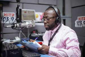 Radio Presenter, Andy Dosty