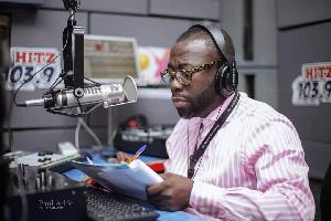 Radio Presenter, Andy Dosty