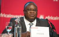 Ekow Afedzie, Managing Director of the Ghana Stock Exchange