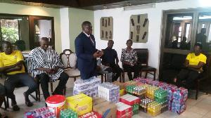 Ben Nunoo Mensah is President of the Ghana Olympic Committee