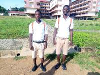 Larbi Appiah Benjamin and Joshua Ohene Arjarquah