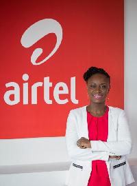 Rosy Fynn, Marketing Director, Airtel Ghana