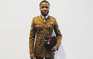 Ghanaian born British soldier, Stanley Mensah Kodia