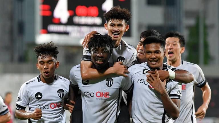 Jordan Mintah nets hat-trick for Terengganu FC II in Malaysian Premier League