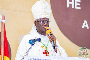 Most Reverend John Bonaventure Kwofie, Metropolitan Archbishop of Accra