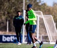 Dwamena has joined Zaragoza on loan
