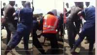 Some Police officers brutalizing citizens