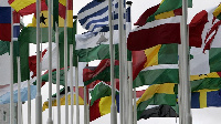 File photo: Flags of African countries
