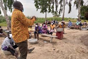 NCCE officials educates Bomingo Island on coronavirus
