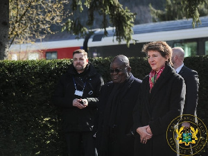 President Akufo-Addo in Switzerland