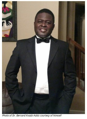 Dr. Bernard Kwabi-Addo, Author of Health outcomes in a foreign land