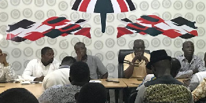 Executives of NDC Western regional office