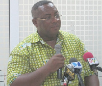 General Secretary of the Mine Workers Union, Prince William Ankrah