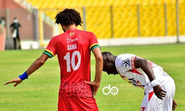 Why Fabio Gama missed Kotoko training on Monday