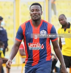 Legendary Ghanaian striker Asamoah Gyan