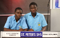 2018 winners of National Science and Maths Quiz