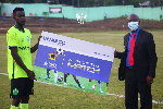2020/21 GPL: Dreams FC captain Michael Agbekpornu named Man of the Match in victory over Medeama SC