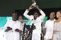 Shatta Wale won the 'Male Act Of The Year' at 3 Music
