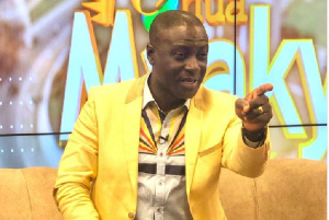 Godsbrain Captain Smart, the host of Onua TV's breakfast