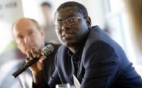Bright Simmons, Honourary Vice President of Imani Ghana