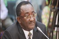 Agric Minister, Dr. Owusu Afriyie-Akoto