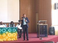 Felix Walter Klomegah, Koforidua Branch Manager, Donewell Life Insurance Company