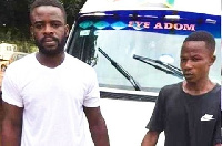 The driver and his mate who assaulted a policeman