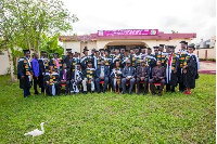 The graduands include, the clergy, chiefs, development consultants, police, etc