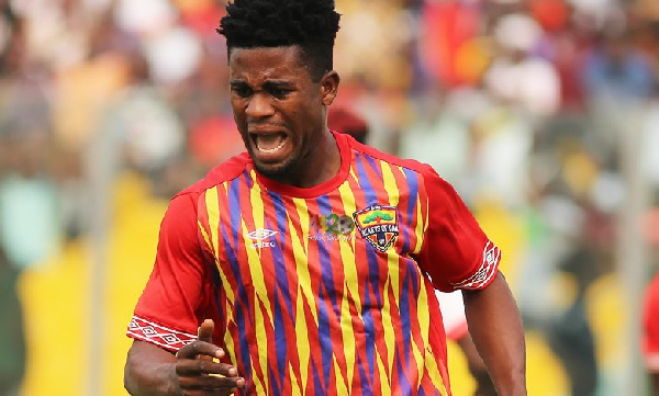 Hearts to miss Afriyie Barnie in crucial game against Great Olympics