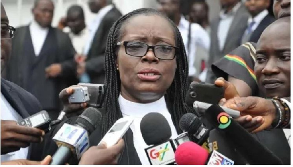 Attorney-General and Minister of Justice, Gloria Akuffo