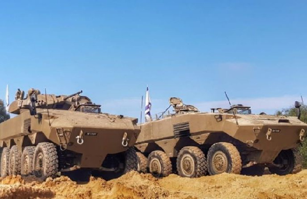 Ghana allocates $86m to purchase 19 Israeli armored vehicles