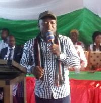 David Walter Hormenu, Lower Manya NDC constituency chairman