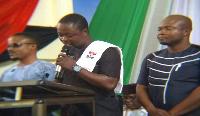 New Patriotic Party (NPP) Volta regional organiser, Emmanuel Korsi Bodja