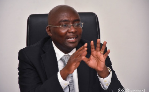 Dr Bawumia has been flown to the United Kingdom for medical leave.