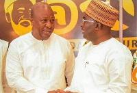 John Mahama and Dr Bawumia