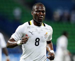 Ghana midfielder Emmanuel Agyemang-Badu