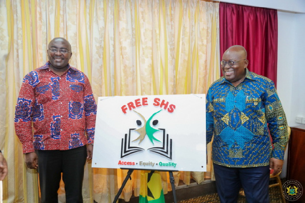 President  Akufo-Addo  and Vice President Mahamudu Bawumia