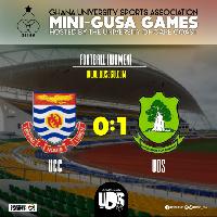 UDS scored UCC one nil