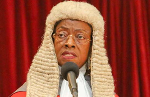 Sophia Akuffo, immediate past Chief Justice of Ghana