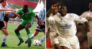 Yekini polled 77.9 percent of the votes, while Yeboah polled 22.1 percent
