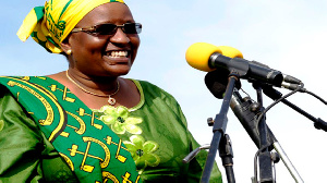 Immediate past First Lady, Janet Magufuli