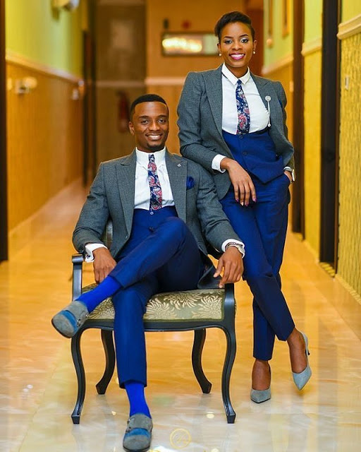 Nigerian Lady Serves As Best Man At Her Twin Brother S Wedding