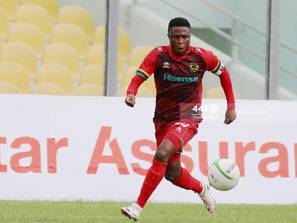 Asante Kotoko winger, Emmanuel Gyamfi