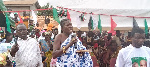 Nana Adu Kwame II, Divisional Chief of Nzema Akropong in the Ellembelle District
