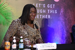 Sylvia Owusu-Ankomah, Corporate Relations Director, Guinness Ghana