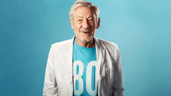 Sir Ian is known to millions as Gandalf in the Lord of the Rings and Hobbit films